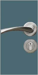 Drazhki 2br. tip rozetka za interiorna vrata ot seriya Standart