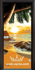 Print G 13 14 Beach sunset B