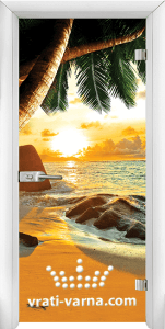 Print G 13 14 Beach sunset W