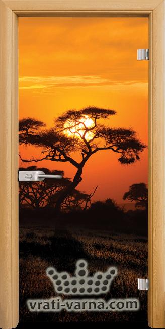Print G 13 17 African Sunset A
