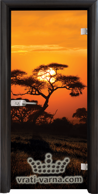 Print G 13 17 African Sunset B